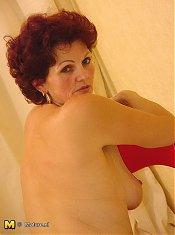 This mama will strip espaecially for you